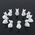 กระต่ายขาวจิ๋ว ชุด 10 ตัว