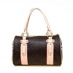 (Pre Order) ZENTEII กระเป๋าผู้หญิง Faux หนังสังเคราะห์บอสตันกระเป๋าถือทรงหมอน ขนาดยาว 31 cn สูง 21 cn
