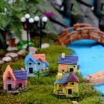 บ้านหลังน้อย (micro landscape)