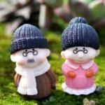 ตุ๊กตาคู่ผู้สูงวัย (ญี่ปุ่น) แบบ B