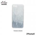 MAOXIN Graffiti Case - Forest Green (iPhoneX)