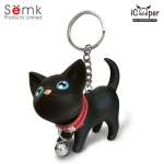 Semk - Kat Key Ring (Black Cat)