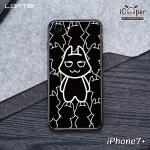 LOFTER Bright Black - Black Cat (iPhone8+/7+)