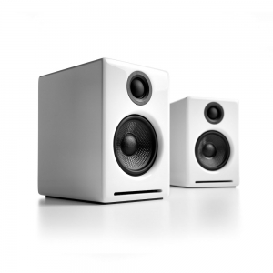 Audioengine A2+Hi-Gloss White Paint
