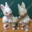 ตุ๊กตาเซอรามิคครอบครัวคุณกระต่าย 5 ตัว thumbnail 1