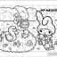ภาพระบายสี จิ๊กซอว์แบบแผ่น มีถาดรอง 54 ชิ้น พร้อมถาดรอง Sanrio ซานริโอ้ My Melody มาย เมโลดี้ thumbnail 1