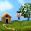 บ้านเรซิ่นเล็ก สีน้ำตาลอ่อน thumbnail 2