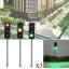 ชุดเสาไฟสัญญาณจราจร 3 สี (สเกล 1:100) สูง 5 ซ.ม. ชุด 3 ต้น thumbnail 1
