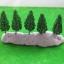 ต้นไม้จิ๋ว (N scale) สูง 5.8 ซ.ม. ชุด 10 ต้น thumbnail 1