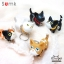 Semk - Kat Key Ring (Pattern Cat) thumbnail 3