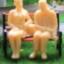 คนจิ๋วท่านั่ง สเกล 1:48 ไม่เพ้นท์สี จำนวน 2 ตัว thumbnail 1