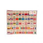 ของเล่นเสริมพัฒนาการ ของเล่น ของเล่นไม้ชุดโดมิโนธงประจำชาติ 100 ประเทศ
