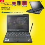 โน๊ตบุ๊คมือสอง ยี่ห้อ Lenovo รุ่น X201Tablet Corei7 Touchscreen StylusPen