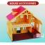บ้านตุ๊กตากระต่าย 2 ชั้น Happy Family thumbnail 6