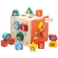 ของเล่นเสริมพัฒนาการ- บล็อคหยอดไม้ลายสัตว์ สอนรูปทรงเลขาคณิต ฝึกทักษะมือและสมอง thumbnail 1