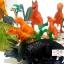 โมเดลพลาสติกเกรดดี ลายไดโนเสาร์ จำนวน 25 ชิ้น thumbnail 4