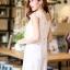 DS0022 เสื้อผ้าแฟชั่น เสื้อผ้าเกาหลี เสื้อผ้าแฟชั่นเกาหลี เดรสเกาหลี เดรสทำงาน แซก ชุดเดรส เดรสน่ารัก เดรสสั้น เดรส Dress thumbnail 3