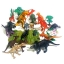 โมเดลพลาสติกเกรดดี ลายไดโนเสาร์ จำนวน 25 ชิ้น thumbnail 2