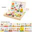 ของเล่นเสริมพัฒนาการ ของเล่น ของเล่นไม้ชุดกระดานเเม่เหล็กเเละกระดานดำชุด Happy Farm thumbnail 1