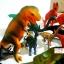 โมเดลพลาสติกเกรดดี ลายไดโนเสาร์ จำนวน 25 ชิ้น thumbnail 3
