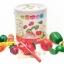 JKP Toys ของเล่นไม้เสริมพัฒนาการ เซทเชุดครัวมินิพร้อมเตาอบ + หั่นผัก ผลไม้ thumbnail 5