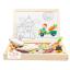 ของเล่นเสริมพัฒนาการ ของเล่น ของเล่นไม้ชุดกระดานเเม่เหล็กเเละกระดานดำชุด Happy Farm thumbnail 3