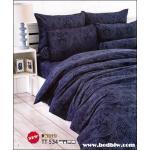 toto ชุดเครื่องนอน ผ้าปูที่นอนลายกราฟฟิก สีสวย TT534