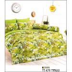 toto ชุดที่นอน ชุดผ้าปูที่นอน ลายต้นไม้ธรรมชาติ TT479