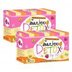 ส้มป่อย DETOX By Ovi น้ำชงส้มป่อย Detox สารพิษ ลดพุงขจัดไขมัน ส่งฟรี ซื้อ 2 กล่อง ราคา 380 บาท