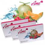 Ame อาเมะ สกัดจากผลไม้เกรด Premium ผิวดี เรียบเนียน กระจ่างใส ส่งฟรี ซื้อ 3 กล่องราคา 3900 บาท