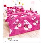 ชุดเครื่องนอน ผ้าปูที่นอน toto ลายดอกไม้ ลายสายมาก TT503