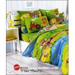 toto ผ้าปูที่นอน ลายการ์ตูนน่ารัก TT522