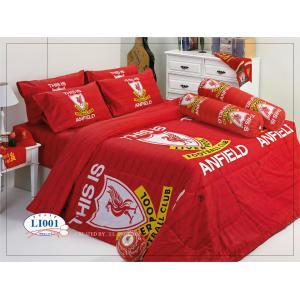 ชุดเครื่องนอน ทิวลิป ผ้าปูที่นอน ลายทีม ลายลายลิเวอร์พูล Li001
