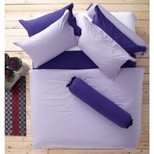 ชุดเครื่องนอน ผ้าปูที่นอน : อิมเพรสชั่น ผ้าสีพื้น : LI - SD -17 สีม่วงอ่อน