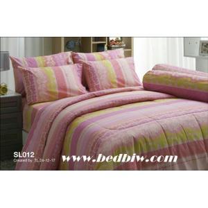 ชุดเครื่องนอน-ผ้าปูที่นอน ทิวลิป SL012