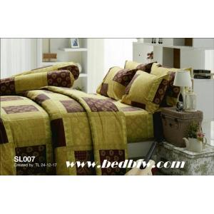 ชุดเครื่องนอน-ผ้าปูที่นอน ทิวลิป SL007
