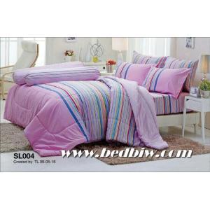 ชุดเครื่องนอน ผ้าปูที่นอน ทิวลิป รหัส SL004