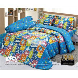 ชุดเครื่องนอน ชุดผ้าปูที่นอน ทิวลิป-tulip ลายการ์ตูน รุ่น A99