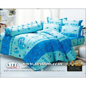 ชุดเครื่องนอน ผ้าปูที่นอน ทิวลิป-tulip ลายการ์ตูนหมี รุ่น A101