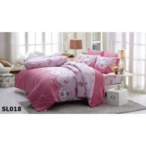 ชุดเครื่องนอน ผ้าปูที่นอน ทิวลิป ลายใหม่ล่าสุด ลายหวานแหวว SL018
