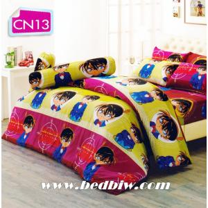 ชุดเครื่องนอน ผ้าปูที่นอน ลาย โคนัน ยอดนักสืบ รุ่นCN13