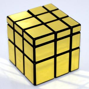 Rubik รูบิค Mirror Cube 3x3x3 Kathrine ShenShou สีทอง
