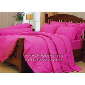 ชุดเครื่องนอน ชุดผ้าปูที่นอน สีพื้น ยี่ห้อ เจสสิก้า สีชมพู Pink