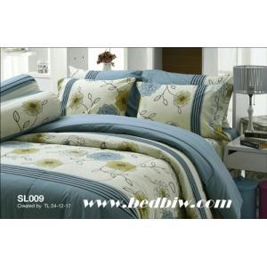 ชุดเครื่องนอน-ผ้าปูที่นอน ทิวลิป SL009