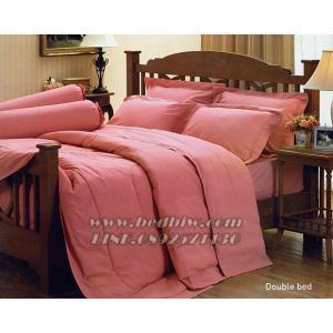 ชุดเครื่องนอน ชุดผ้าปูที่นอน สีพื้น ยี่ห้อ เจสสิก้า สีโอรส Old Rose