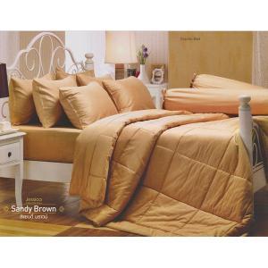 ชุดเครื่องนอน เจสสิก้า JESSICA สีพื้น Cotton 100% สี Sandy Brown