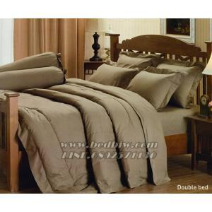 ชุดเครื่องนอน ชุดผ้าปูที่นอน สีพื้น ยี่ห้อ เจสสิก้า สีน้ำตาลอ่อน Light Brown