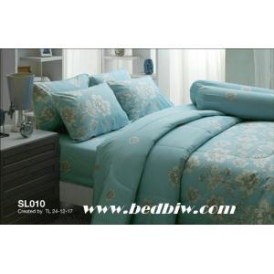 ชุดเครื่องนอน-ผ้าปูที่นอน ทิวลิป SL010