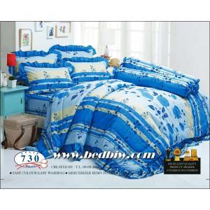ชุดเครื่องนอน ผ้าปูที่นอน ทิวลิป-tulip ลายดอกไม้ รุ่น 730