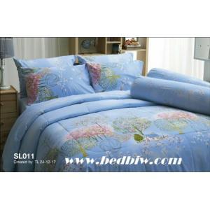 ชุดเครื่องนอน-ผ้าปูที่นอน ทิวลิป SL011